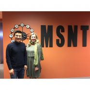 Professor Yang from Aoyama Gakuin University in Tokyo, Japan visits MSNT